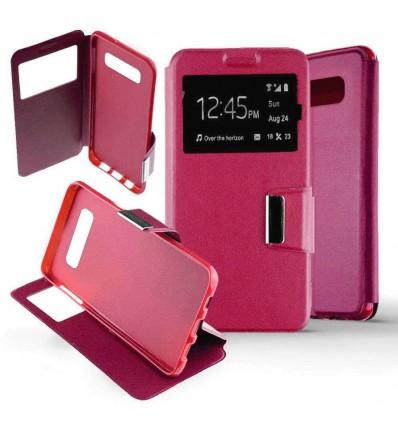 Etui Folio Samsung Galaxy S10 - Rose