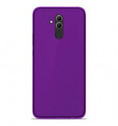 Coque Huawei Mate 20 lite Silicone Gel givré - Violet Translucide