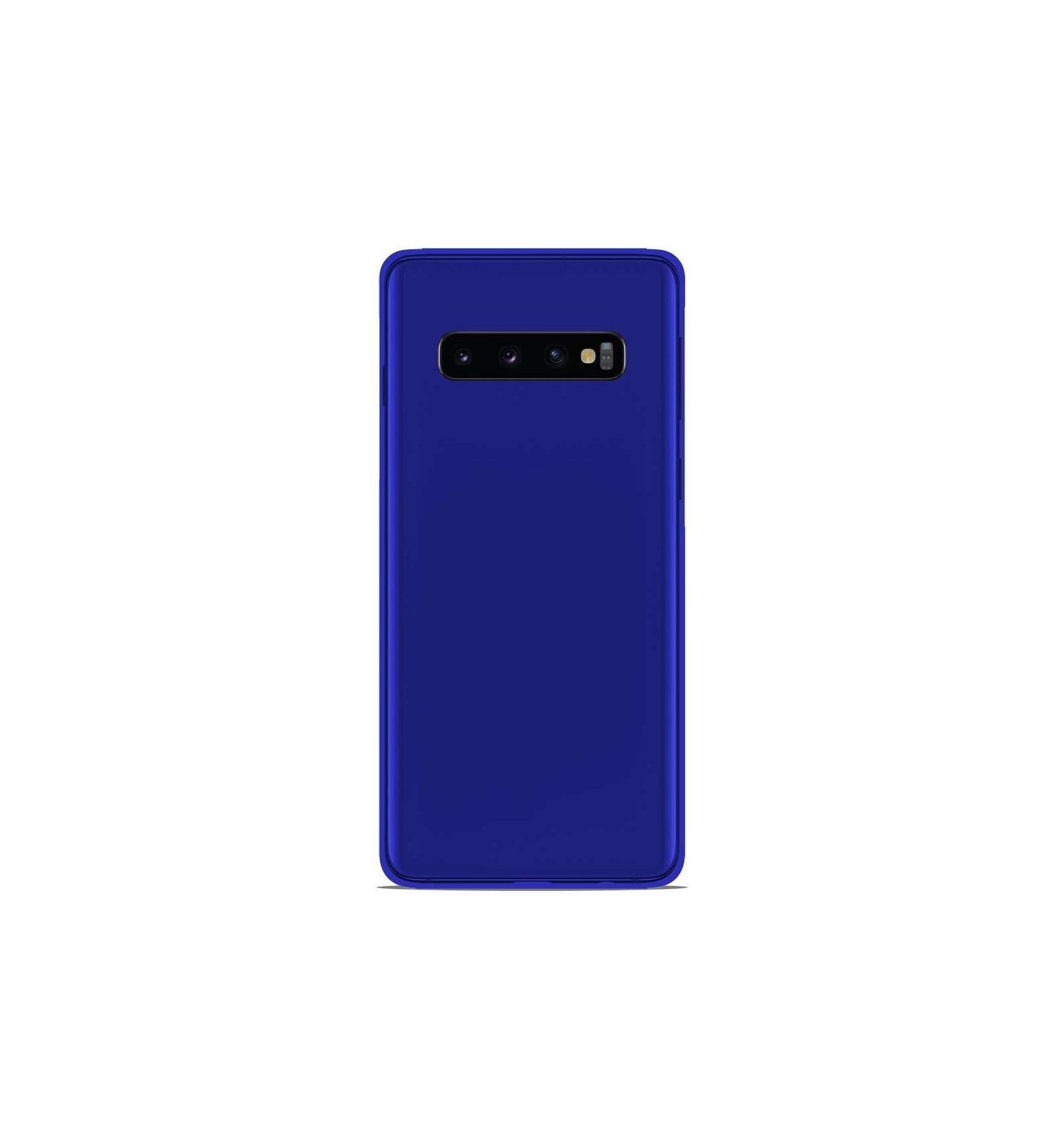 coque galaxy s 10 bleu