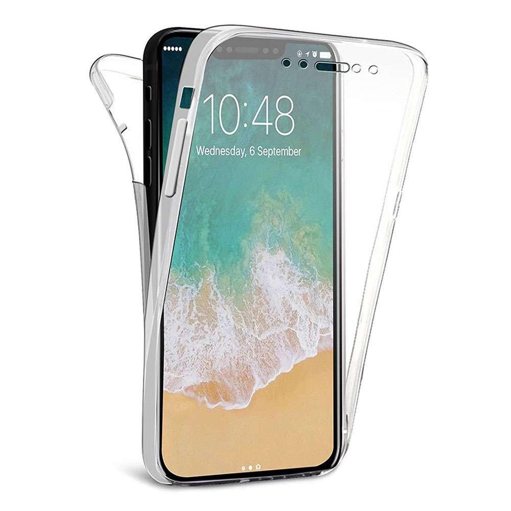 Coque silicone intégrale pour Apple iPhone XR