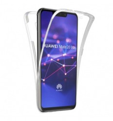 Coque silicone intégrale pour Huawei Mate 20 Lite