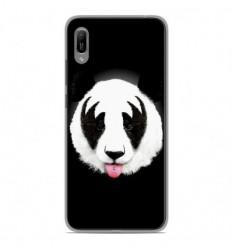 Coque en silicone Huawei Y6 2019 - RF Kiss Of Panda