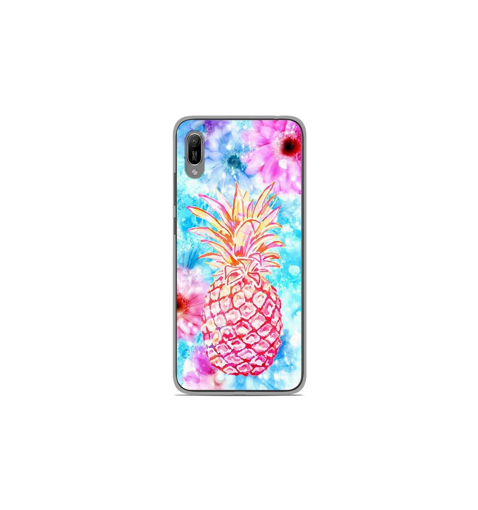 Coque en silicone Huawei Y6 2019 - Ananas