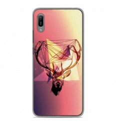 Coque en silicone Huawei Y6 2019 - Cerf Hipster