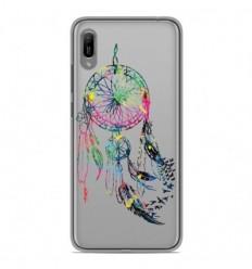 Coque en silicone Huawei Y6 2019 - Dreamcatcher Gris