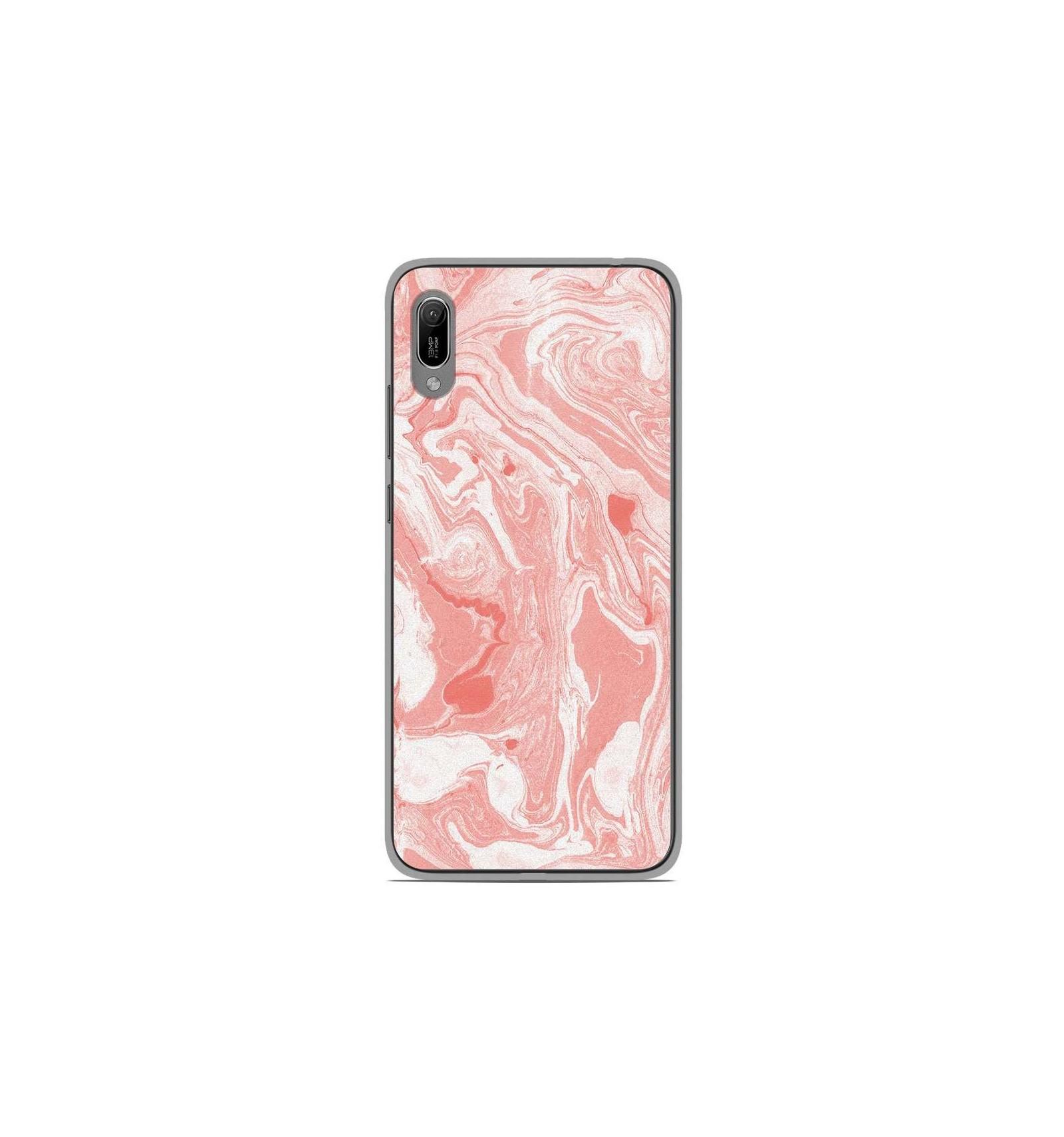 coque marbre huawei y6 pro 2019