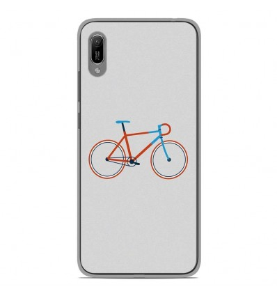 Coque en silicone Huawei Y6 2019 - Bike color Hipster