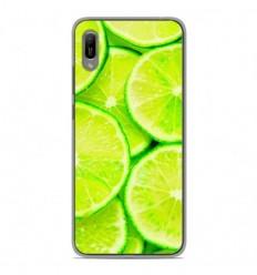 Coque en silicone Huawei Y6 2019 - Citron