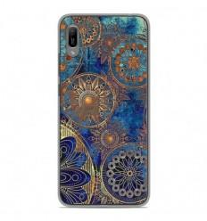 Coque en silicone Huawei Y6 2019 - Mandalla bleu