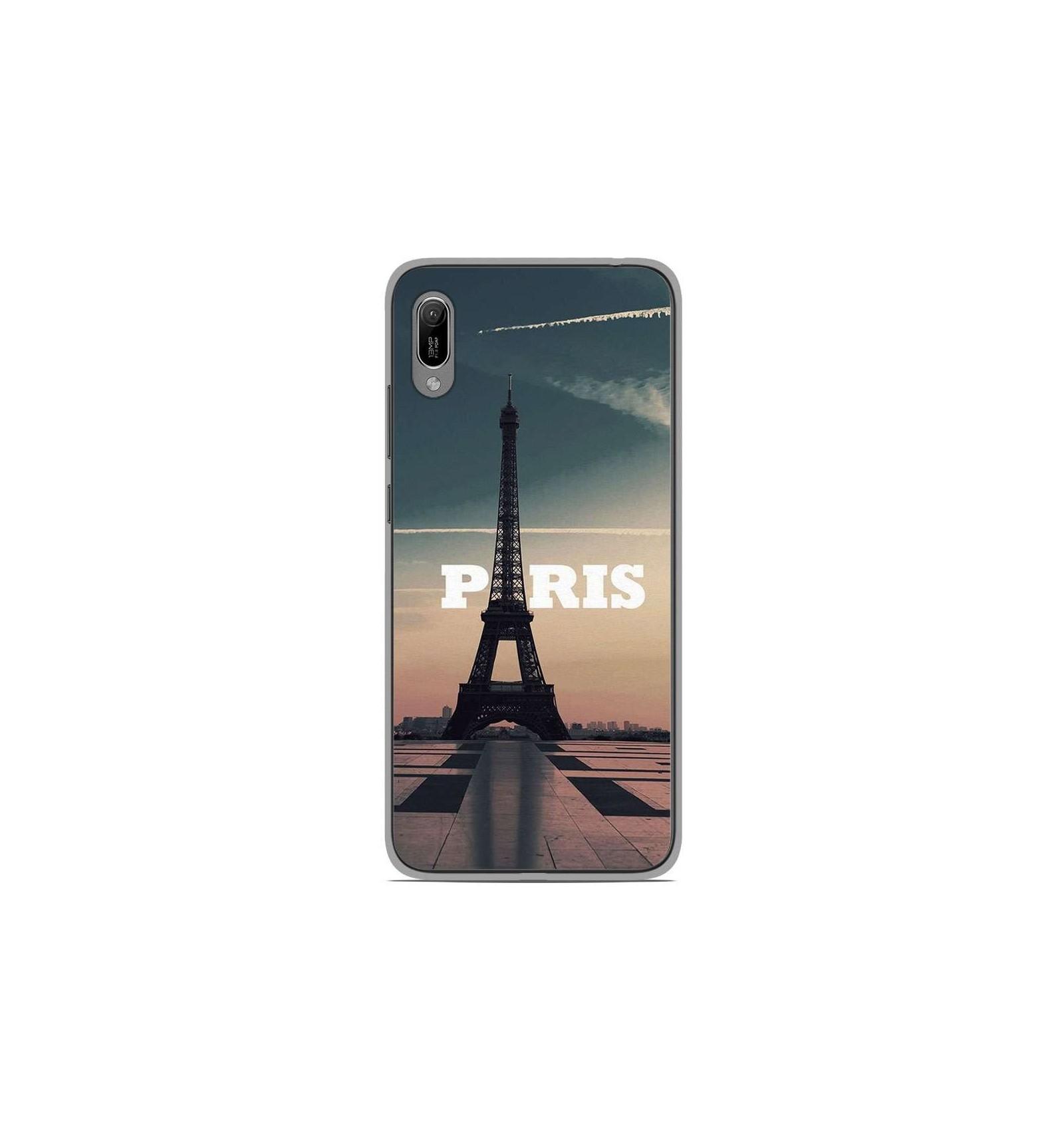 Coque en silicone Huawei Y6 2019 - Paris