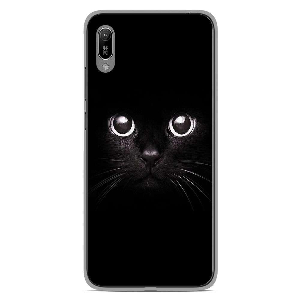 Coque en silicone Huawei Y6 2019 - Yeux de chat