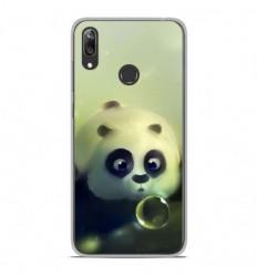 Coque en silicone Huawei Y7 2019 - Panda Bubble