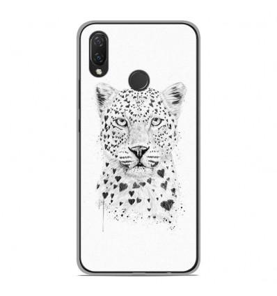 Coque en silicone Huawei P Smart Plus - BS Love leopard