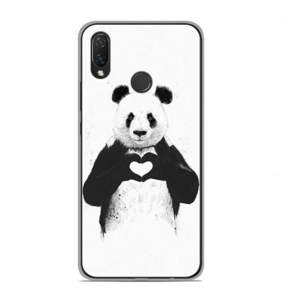 Coque en silicone Huawei P Smart Plus - BS Love Panda