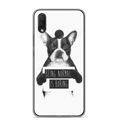 Coque en silicone Huawei P Smart Plus - BS Normal boring