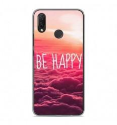 Coque en silicone Huawei P Smart Plus - Be Happy nuage