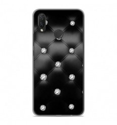 Coque en silicone Huawei P Smart Plus - Strass