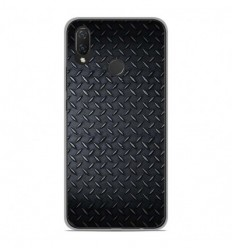 Coque en silicone Huawei P Smart Plus - Texture metal