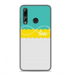 Coque en silicone Huawei P Smart Plus 2019 - Love Turquoise
