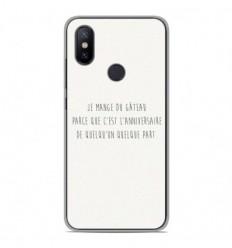 Coque en silicone Xiaomi Mi A2 - Citation 12