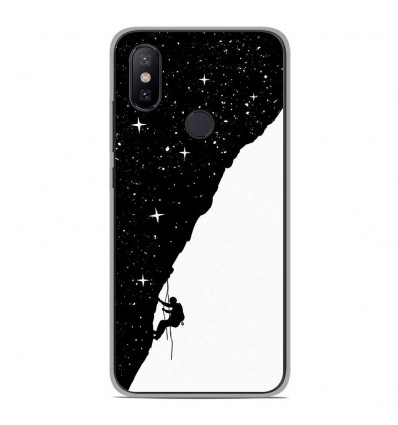Coque en silicone Xiaomi Mi 6X - BS Nightclimbing