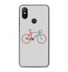 Coque en silicone Xiaomi Redmi 6 Pro - Bike color Hipster