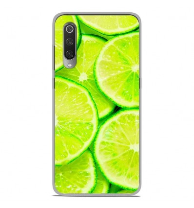 Coque en silicone Xiaomi Mi 9 / Mi 9 Pro - Citron