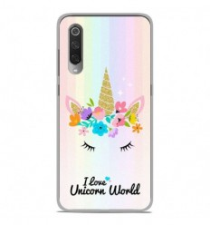 Coque en silicone Xiaomi Mi 9 / Mi 9 Pro - Unicorn World
