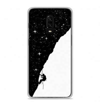 Coque en silicone OnePlus 6T - BS Nightclimbing