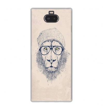 Coque en silicone Sony Xperia 10 - BS Cool Lion