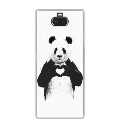 Coque en silicone Sony Xperia 10 - BS Love Panda