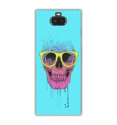 Coque en silicone Sony Xperia 10 - BS Skull glasses