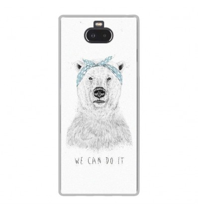 Coque en silicone Sony Xperia 10 - BS We can do it