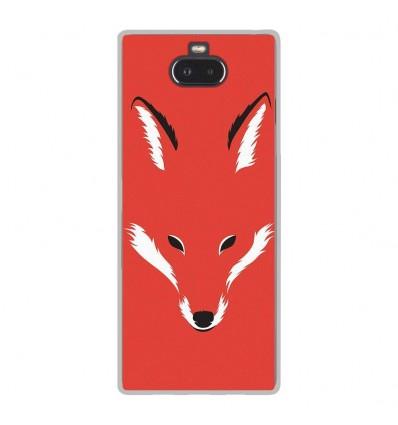 Coque en silicone Sony Xperia 10 - RF Foxy Shape
