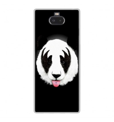 Coque en silicone Sony Xperia 10 - RF Kiss Of Panda