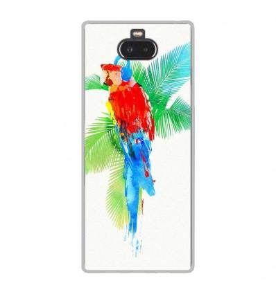 Coque en silicone Sony Xperia 10 - RF Tropical party
