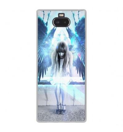 Coque en silicone Sony Xperia 10 - Angel