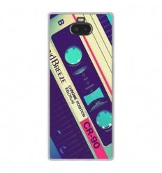 Coque en silicone Sony Xperia 10 - Cassette Vintage