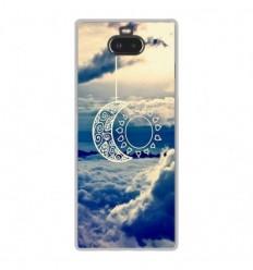 Coque en silicone Sony Xperia 10 - Lune soleil