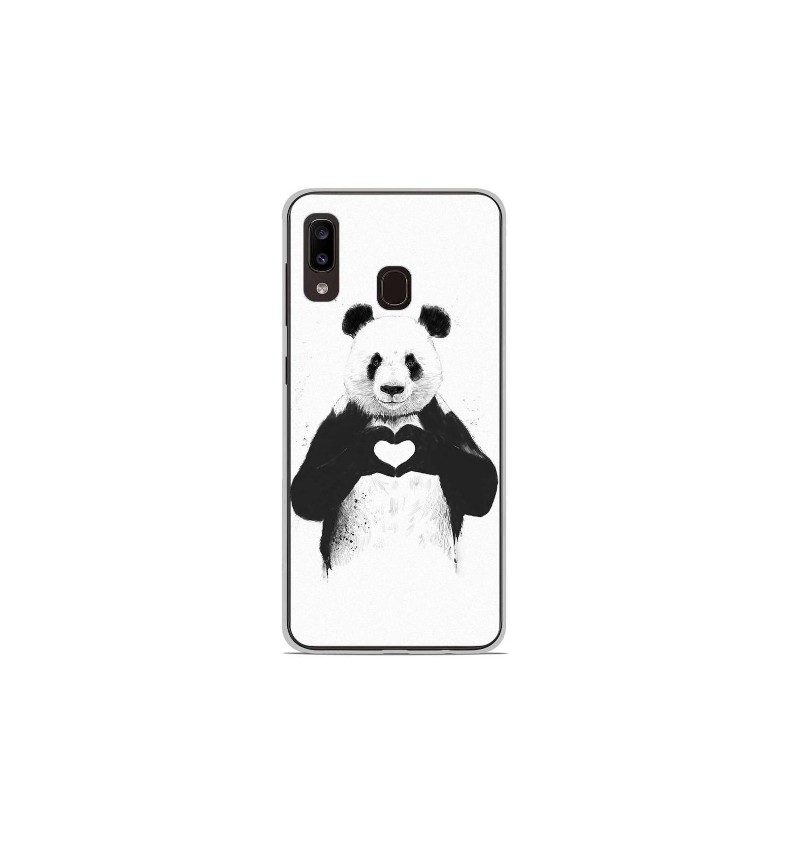 coque samsung a20 panda