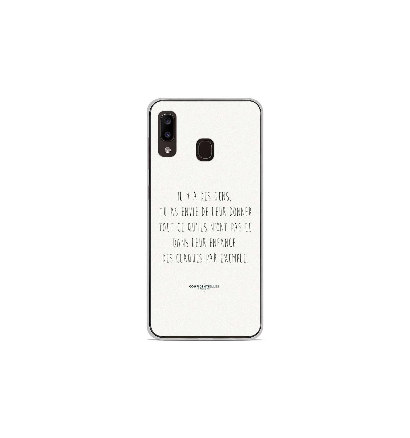 Coque en silicone Samsung Galaxy A20 / A30 - Citation 01