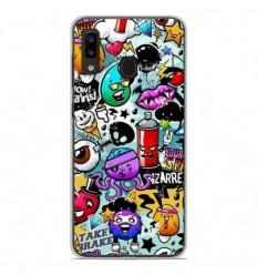 Coque en silicone Samsung Galaxy A20 / A30 - Graffiti 2