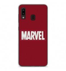 Coque en silicone Samsung Galaxy A20 / A30 - Marvel