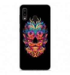 Coque en silicone Samsung Galaxy A20 / A30 - Masque carnaval