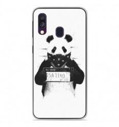 Coque en silicone Samsung Galaxy A40 - BS Bad Panda