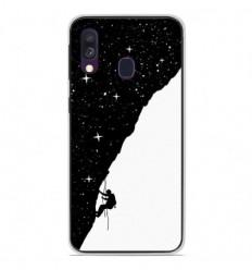 Coque en silicone Samsung Galaxy A40 - BS Nightclimbing