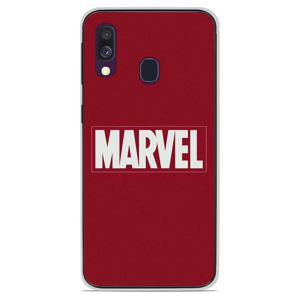 Coque en silicone Samsung Galaxy A40 - Marvel