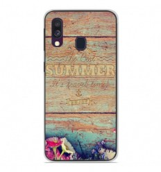 Coque en silicone Samsung Galaxy A40 - The best summer