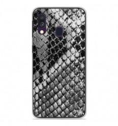Coque en silicone Samsung Galaxy A40 - Texture Python