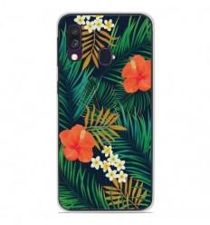 Coque en silicone Samsung Galaxy A40 - Tropical